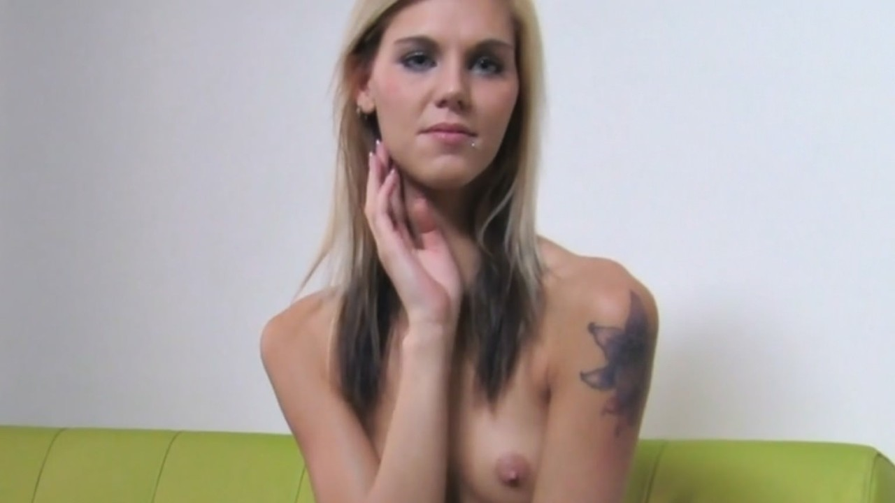 Slim Blonde Gets Filled With Creampie Cum FakeHub Porn