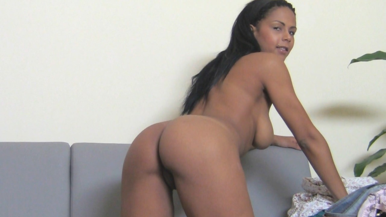 Agent Enjoys Ebony Babe's Juicy Booty FakeHub Porn