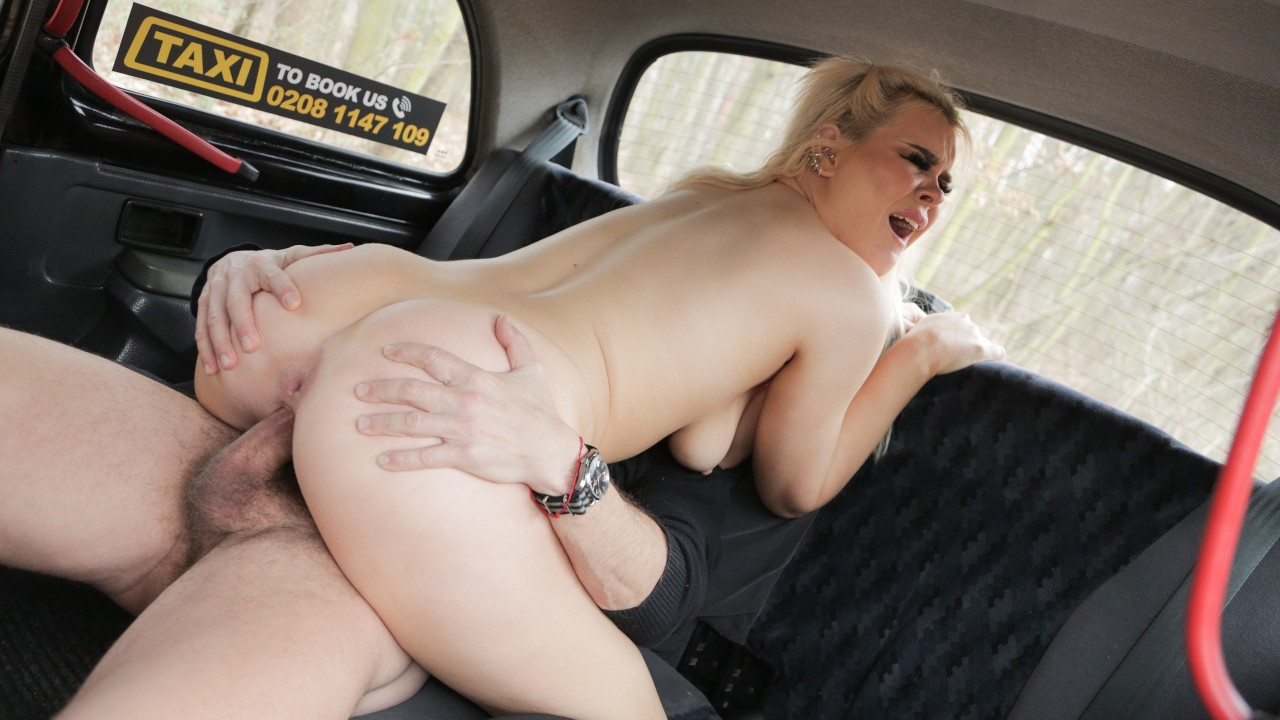 Blonde Brit Fucked by Euro Cabbie FakeHub Porn