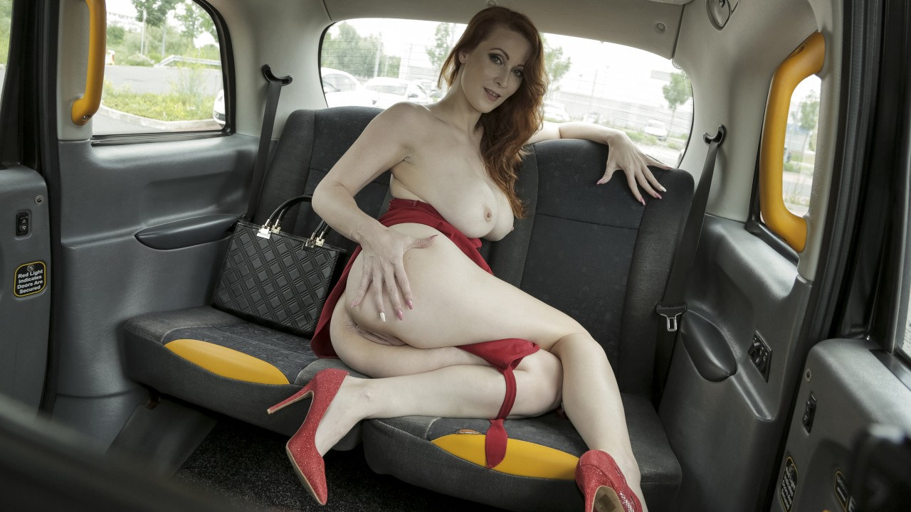 The Redhead in the Red Dress FakeHub Porn