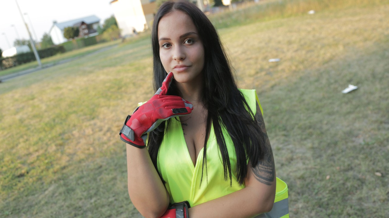 Litter Picker Fucked in the Woods FakeHub Porn